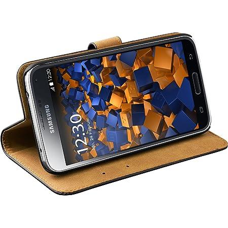 Mumbi Echt Leder Bookstyle Case Kompatibel Mit Samsung Elektronik