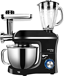 MIC Stand Mixer 3 in 1 Multifunction Mixer 5.5L Large Capacity Electric Meat Grinder Juice Blender 1100W Durable Kitchen M...