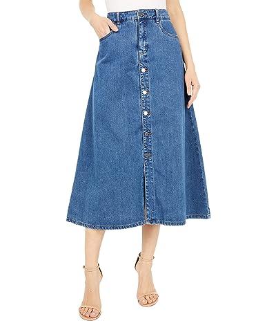FDJ French Dressing Jeans Soft Maxi Skirt (Denim) Women