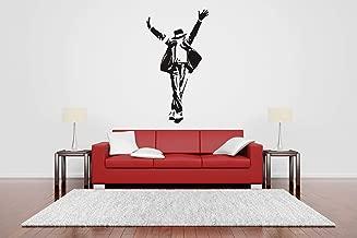 Vinyl Sticker Michael Jackson Silhouette Singer King Pop Super Star Music Musician Mural Decal Wall Art Decor SA2461