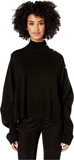 Pullover with Push Buttons