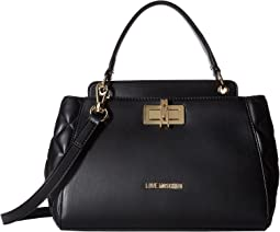 LOVE Moschino - Fashion Quilted Top Handbag