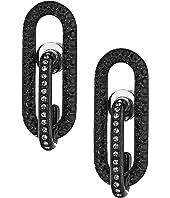 Michael Kors Iconic Pave Link Earrings