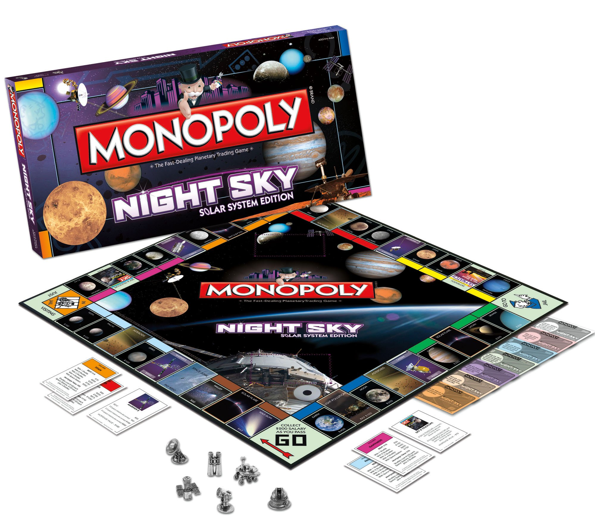 Night Sky Monopoly: Night Sky Monopoly: Amazon.es: Juguetes y juegos