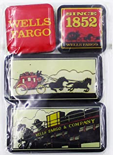 Wells Fargo Collectible Advertising Multiple Magnet Pack