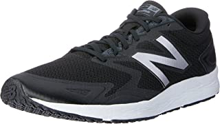 New Balance Men's Flash Running Shoes, Black/White