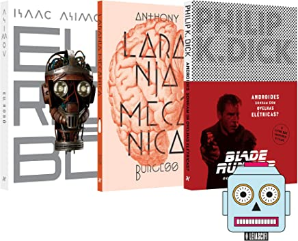 Kit Clássicos Indispensáveis da Ficção Científica + Brinde (Adesivo Sci - Fi) - Kit