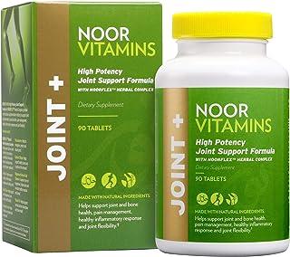 Sponsored Ad - NoorVitamins JOINT+ w/ Glucosamine, Hyaluronic Acid, Calcium, Magnesium, Turmeric & Natural Ingredients. Su...