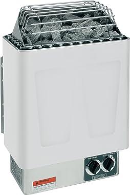Harvia KIP 8KW, 240V-1PH Electric Sauna Heater with Built In Controls (Includes Sauna Stones)