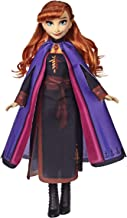 Disney Frozen Anna Fashion Doll with Long Red Hair & Outfit Inspired by Frozen 2 - Toy for Kids 3 Years Old & Up