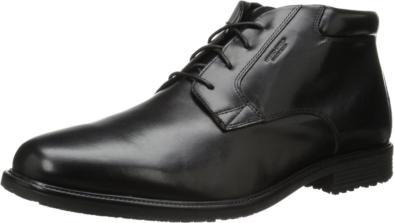 Rockport - Esntial DTL Wpchukka Chaussures Homme, 42 XW EU, noir