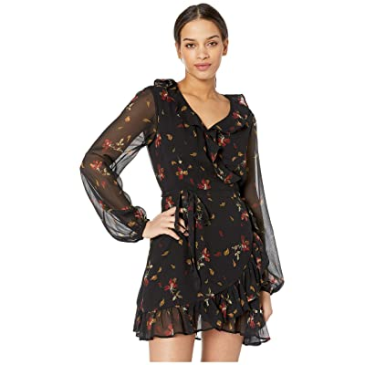 Paige Shawna Dress (Black Multi) Women