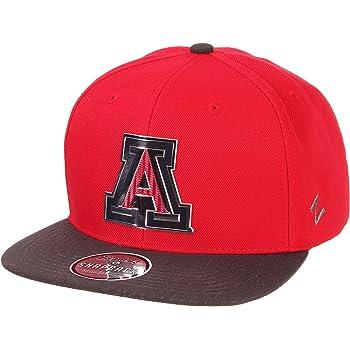 Navy Adjustable NCAA Zephyr Mississippi Old Miss Rebels Mens Harajuku Snapback Hat