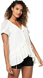 Three of Something Women's Embark Blouse, White