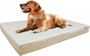 Dogbed4less Memory Foam Dog Bed