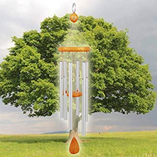 Nature Anywhere Outdoor Windchimes Musically Tuned to The Hymn Bless This House with 3 Volume System. Perfect Holiday, Mem...