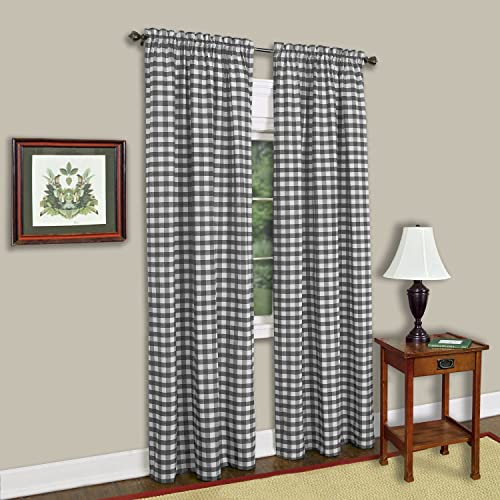 Checkered Curtains Amazoncom