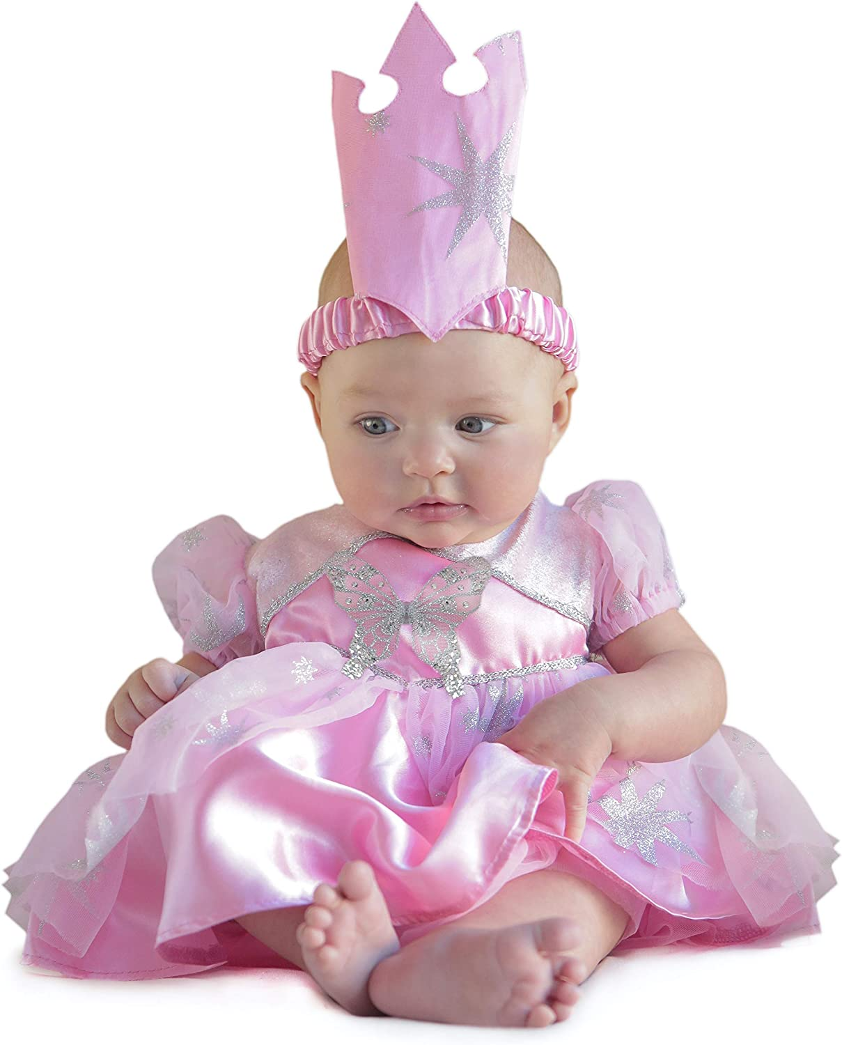 Wizard of Oz Baby Costume Baby Shower Gift Baby Gift Baby Girl Baby Halloween Glinda the Good Witch Baby Clothes Baby Girl Clothes