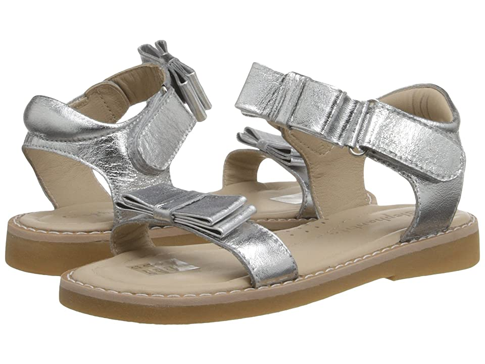 Elephantito Nicole Sandal (Toddler/Little Kid) (Silver) Girls Shoes