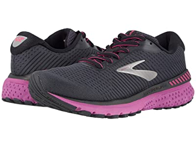 Brooks Adrenaline GTS 20 (Ebony/Black/Hollyhock) Women