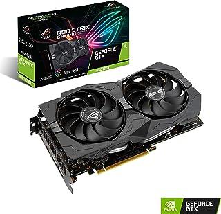 ASUS ROG-Strix-GTX 1660S-6G-GAMING - Tarjeta gráfica (NVIDIA GeForce GTX 1660 Super, 6 GB, GDDR 6, 192 bit, 1408 Cuda Núcleos, 1815 MHz, HDMI x 2, DisplayPort x 2, PCI Express 3.0 x 16)