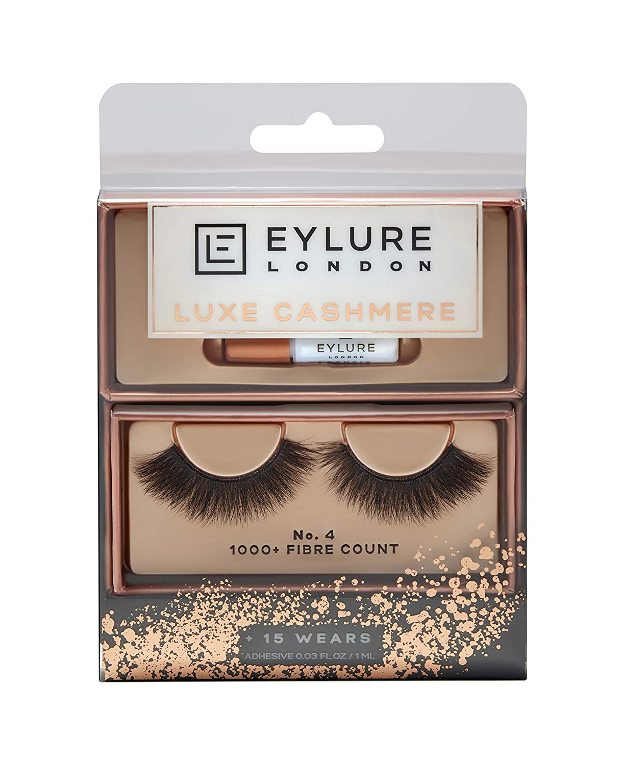 Eylure Luxe Cashmere Lashes, No. 18