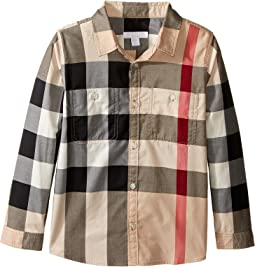 Two-Pocket Check Shirt (Little Kids/Big Kids)