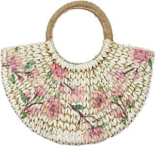 HabereIndia Girls' Handbag (DryGrasshandbag67_Multicolored)