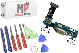 MobilePrime Charging Port Replacement Kit Compatible for Samsung Galaxy S5 (G900A) Including Repair Tools