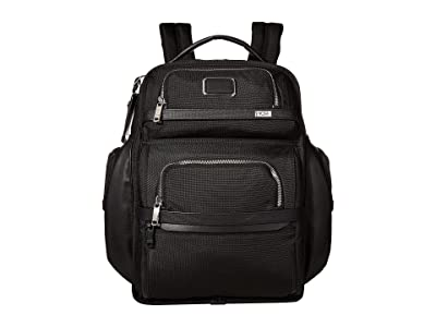 Tumi Alpha 3 Brief Pack(r) (Black Chrome) Backpack Bags