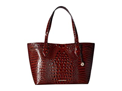 Brahmin Melbourne Athena (Pecan) Handbags