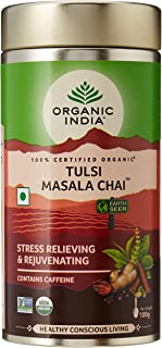 ORGANIC INDIA Tulsi Masala Chai 100Gm Tin