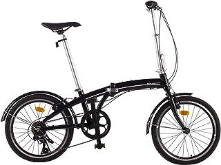 Ultrasport 331100000184 Bicicleta Plegable, 7 Marchas,