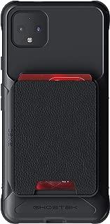 Ghostek Exec Designed for Google Pixel 4 XL Wallet Case Magnetic Leather Card Holder Pocket Holds 4 Credit Cards Military Grade Shockproof Protective Phone Cover for 2019 Pixel 4 XL (6.3