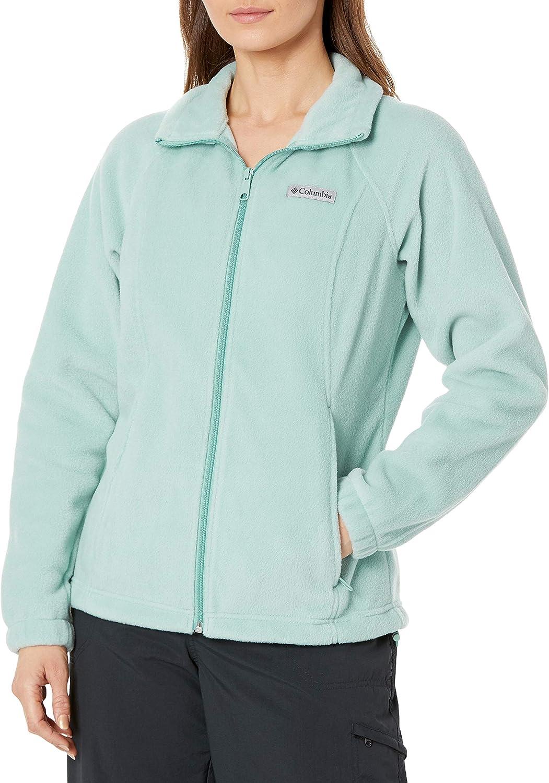 Columbia Women's Benton Fixed price for sale Springs Jacket Full Zip New life Fleece