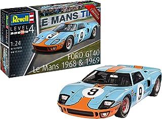 Revell vell 07696 Ford GT 40 Le Mans 1968 edycja limitowana zestaw modelowy skala 1:24, nielakierowana