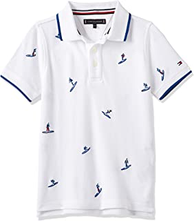 Tommy Hilfiger Boy's SURFER EMBROIDERED S/S Polo Shirt