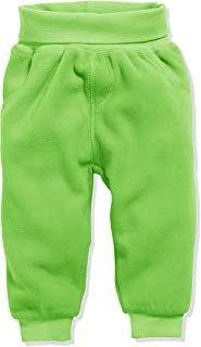 Schnizler Baby Pump-Hose aus Fleece, bequeme Kinder-Hose mit elastischem Strick-Bund