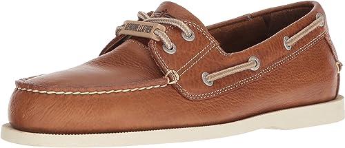 Dockers Pour des hommes hommes Vargas Leather Décontracté Classic Boat chaussures, Dark Tan, 7.5 M  dégagement jusqu'à 70%