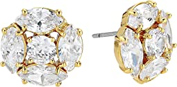 Flying Colors Marquise Cluster Studs Earrings