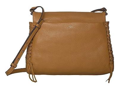 Vince Camuto Jayde Crossbody (Creamy Caram) Handbags