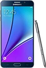 Samsung Galaxy Note 5 32GB GSM Unlocked - Black (Renewed) (D132)