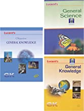 Lucent's Objective General Knowledge, General Science, General Knowledge (Set of 3 books)