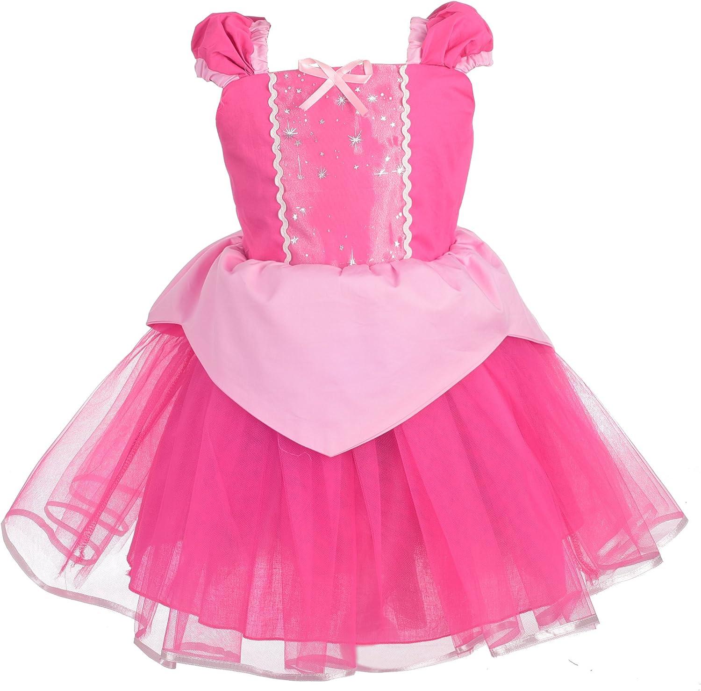 Lito Angels Large discharge sale Princess Summer Dress Littl for Toddler Up List price Costume