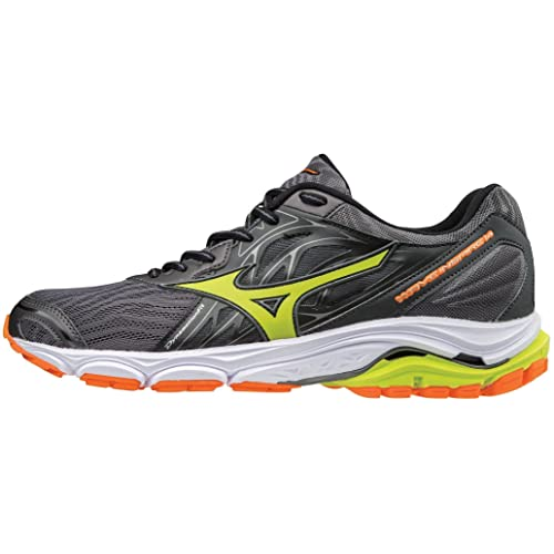 mizuno mens running shoes size 9 youth gold orange