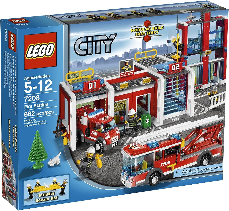Vuelta de 10 dias LEGO City Fire Station 662pieza(s) Juego de de de construcción - Juegos de construcción, 5 año(s), 662 Pieza(s), 12 año(s)  Venta en línea precio bajo descuento