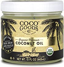 CocoGoodsCo Vietnam Single-Origin Organic Premium Coconut Oil, Centrifuge Extracted - Great for Hair and Nails Care, Skin Moisturizer (Home/Value Pack)
