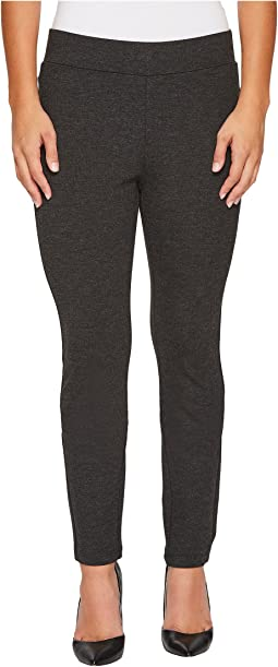 NYDJ Petite - Petite Basic Ponte Leggings in Charcoal