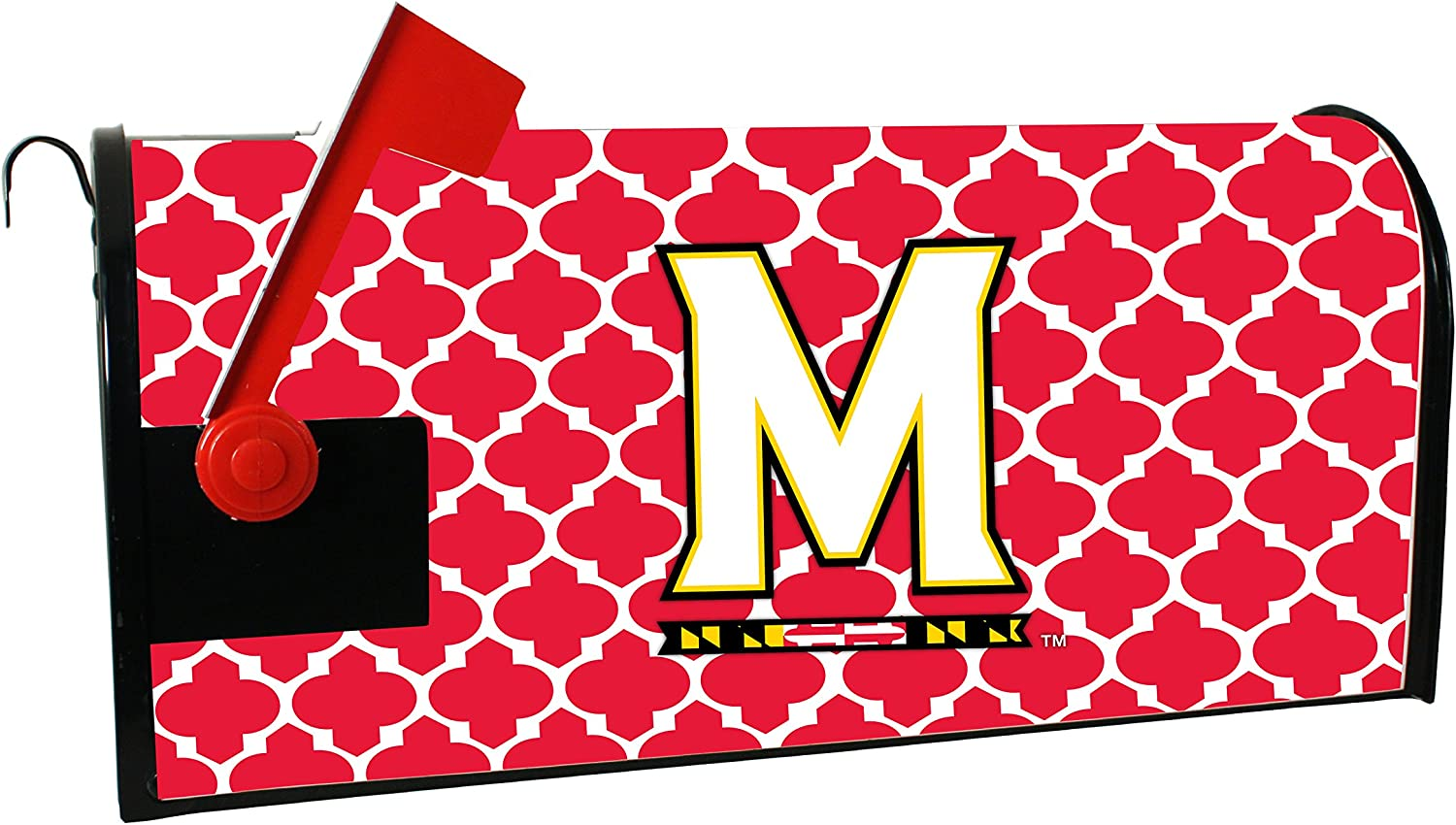 MARYLAND TERRAPINS MAILBOX MAGNETIC Fort Worth Mall Sales OF COVER-UNIVERSITY
