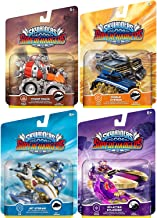 Jet Character cars Super Chargers Sky Stream / Thump Truck / Splatter Splasher / Shield Striker Game Vehicles Sklanders Land & Sea 4-pack